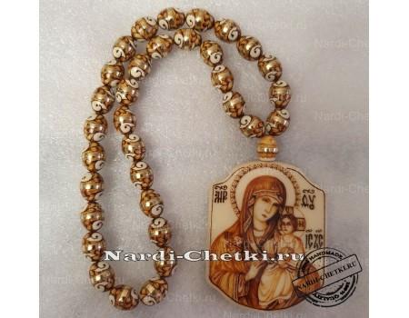 """Купить православные четки """"Дева Мария"""" с молитвой"""