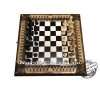 """Нарды шахматы шашки """"Трио"""""""