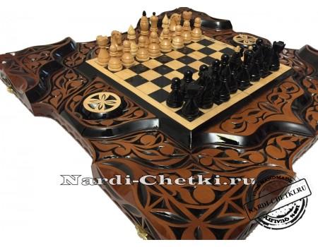 """Купить шахматы-нарды """"Битва умов"""""""