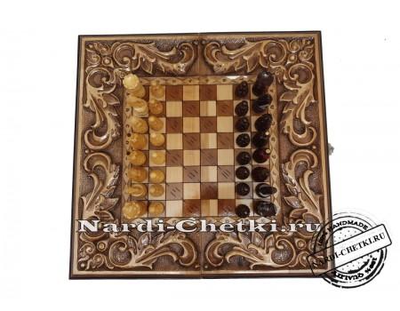 "Купить шахматы-нарды-шашки ""Гетман"""