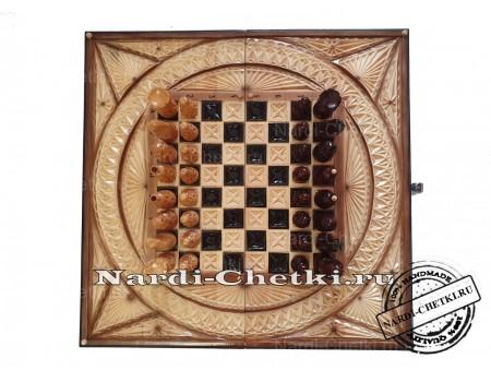 "Купить шахматы нарды шашки ""Охота"""