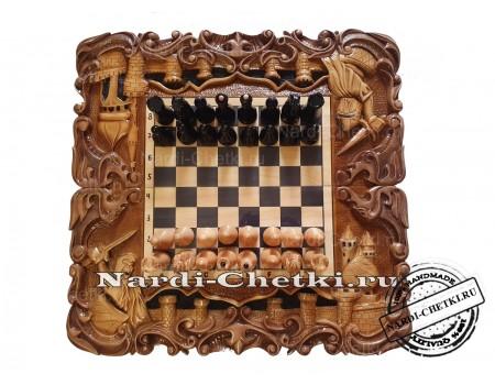 """Купить шахматы-нарды-шашки """"Турнир 2"""""""