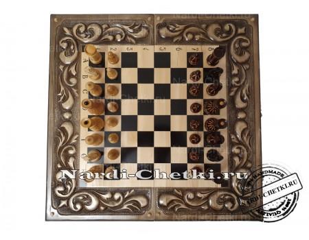"Купить шахматы нарды шашки ""Битва замков"""
