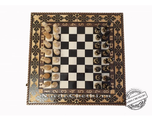 """Шахматы нарды """"Chess Club"""""""